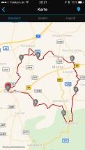 35 km im Vogelsberger Hügelgebirge
